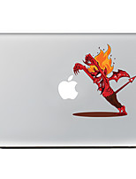 1 pièce Anti-Rayures Dessin Animé En Plastique Transparent Décalcomanie Motif PourMacBook Pro 15'' with Retina MacBook Pro 15 '' MacBook