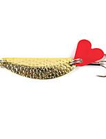 1 pcs Poissons nageur/Leurre dur Couleurs Aléatoires 0.01 g Once mm pouce,Métal Pêche générale