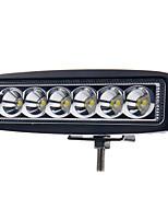 6 дюймов 18w вел свет работы бар лампа для вождения грузовик прицеп мотоцикл внедорожник автомобиль ATV Offroad 12-24 прожектор