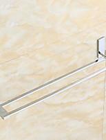 Accroche Serviette et supports Moderne Rectangulaire Laiton