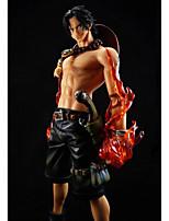 Figures Animé Action Inspiré par One Piece Ace PVC 26 CM Jouets modèle Jouets DIY