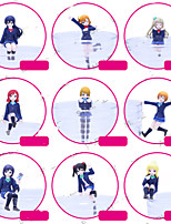 Anime Action Figures Inspired by Love Live Cosplay PVC 7 CM Model Toys Doll Toy 1set