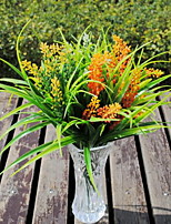 1 Branch Plastic Others Tabletop Flower Artificial Flowers Setaria