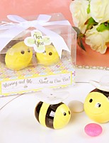 Mommy and Me Sweet as Can Bee Ceramic Honeybee Salt and Pepper Shakers Beter Gifts® Baby Shower Favors