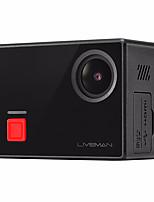 Letv Liveman® Câmara de Acção / Câmara Esportiva 16MP WIFI Touchscreen Panorama Ângulo Largo 120fps 1.5 CMOS 64 GB Disparo Contínuo Time-lapse 40 M