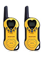 T5 2pcs 22 Channel UHF Walkie Talkie with LCD Screen