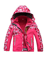 Kid's Softshell Jacket Cycling/Bike Running Comfortable Spring Fall/Autumn Winter