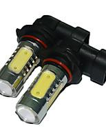 2pcs 5 сторона СИД тумана автомобиля лампа 9005 светодиодные лампы