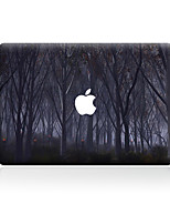 For MacBook Air 11 13/Pro13 15/Pro with Retina13 15/MacBook12 The Dark Wood Decorative Skin Sticker