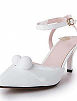 Women's Heels Spring Summer Fall Winter Comfort Novelty Patent Leather Leatherette Wedding  Career Party & Evening Dress