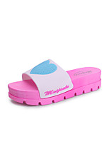 Slippers & Flip-Flops Summer Slingback PVC Casual Flat Heel Walking