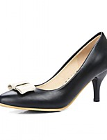 Women's Heels Spring Summer Fall Winter Comfort Novelty Patent Leather Leatherette Wedding Office & & Evening Dress Casual