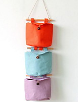 Storage Bags Textile withFeature is Open  For Underwear Cloth Walled Sack Random Color