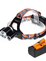 U'King® ZQ-X820E-US CREE XM-L T6/2*R5 Headlamp 5000LM LED 4 Mode for Camping Hiking Bike Outdoor Red light