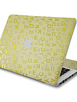 For MacBook Air 11 13/Pro13 15/Pro with Retina13 15/MacBook12 Flash Letters Texture Decorative Skin Sticker