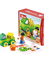Обучающая игрушка Игрушки Для получения подарка Конструкторы Оригинальные и забавные игрушки Грузовик Дерево 2-4 года Радужный Игрушки