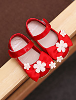 Baby Flats Spring Fall Comfort Suede Leatherette Outdoor Casual Flat Heel Magic Tape White Red Pink Walking