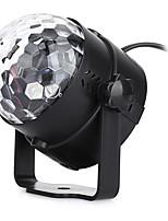 U'King® RGB 3x LEDs Magic Ball Stage Lighting for Car Decoration Ballroom KTV PARTY Home Decorative