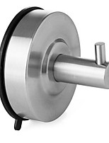 Vacuum Strong Suction Cup Type Hook / BrushedStainless Steel /Contemporary
