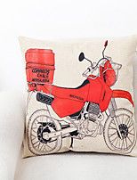 1 pcs Polyester Pillow Cover,Graphic Prints Traditional