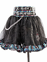 Ballet Dress Children's Performance Polyester Splicing Chain 1 Pieces Kid's Dance Dress Skirt Black