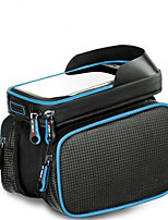 Bike BagBike Frame Bag Waterproof Waterproof Zipper Reflective Strip Wearable Phone Iphone Multifunctional Skidproof Bicycle BagPU