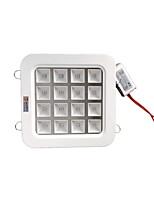 ZDM 16W High Power LED (12Red 4Blue)Full Wavelength Plant Growth Lamp LED Ceiling Lamp (AC85-265V)