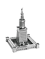 3D Puzzles Metal Puzzles For Gift  Building Blocks Model & Building Toy Famous buildings Architecture 14 Years & Up Toys