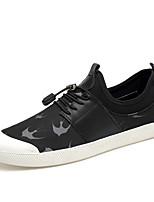 Homme-Extérieure Décontracté SportTalon Plat-Confort-Chaussures d'Athlétisme-Similicuir