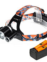 U'King ZQ-X819E-EU CREE XM-L T6/2*R5 Headlamp 5000LM LED 4 Mode for Camping Hiking Bike Outdoor UV light
