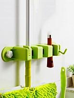 1шт полезная кухня хранения чистой стойку держатель инструмента швабры щетки организатор метлы вешалка