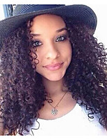 Deep Curly Full Lace Human Hair Wigs For Black Women Malaysian Glueless Full Lace Wigs  With Baby Hair 8-24 1b