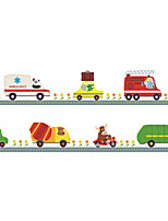 Wall Stickers Wall Decals Style Cartoon Car PVC Wall Stickers