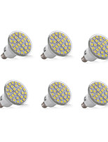 3W E14 Decoration Light 29 SMD 5050 200-300lm Warm White Cool White Decorative AC 220-240V 6 pcs
