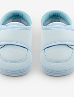 Baby Flats Spring Fall First Walkers PU Outdoor Casual Flat Heel Magic Tape Pink Light Blue Walking