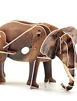 Пазлы 3D пазлы Строительные блоки Игрушки своими руками Слон 1 Оригинальные и забавные игрушки