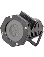 U'King® 6*12W LED Stage Project Effect Light 4*10 Picture Lens Free to Switch Patterns 1pcs