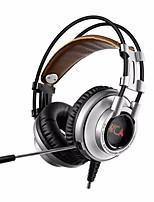 Xiberia k9u 7,1 surround stereo usb spelhörlurar med mikrofon PC Gamer ledde andas ljus bandhead spel headset för lol cf