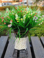 1 Branch Plastic Others Tabletop Flower Artificial Flowers Campanula