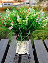 1 Une succursale Plastique Autres Fleur de Table Fleurs artificielles 25*25*28