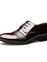 Men's Oxfords Comfort Casual Office & Career Party & Evening Walking Comfort Low Heel Brown