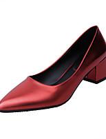 Femme-DécontractéTalon Bas-Confort-Chaussures à Talons-Polyuréthane