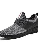 Men's Sneakers Summer Fall Light Soles Tulle Outdoor Athletic Low Heel Running
