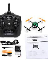 Drone WALKERA 4 Canaux 3 Axes 5.8G - Quadri rotor RC Vol à l'envers Quadri rotor RC Caméra Télécommande Câble USB Manuel D'Utilisation