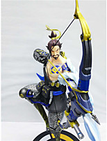 Anime Action Figures Inspired by Overwatch Cosplay PVC 28 CM Model Toys Doll Toy 1pc
