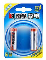 Гидрид Nanfu Аа Никель-металл аккумуляторная батарея 1.2V 1600mAh 2 шт