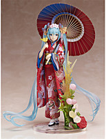 Anime Action Figures Inspired by Vocaloid Hatsune Miku PVC 22 CM Model Toys Doll Toy 1pc