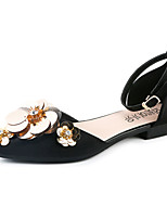 Sandals Summer Light Soles Leatherette Party & Evening Dress Casual Flat Heel Applique Walking