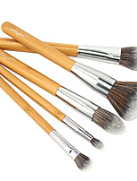 vela.yue Premium Makeup Brushes Collection 5pcs Face Eyes Brushes Set eco-friendly bamboo Beauty Tools