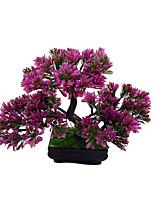 1 Une succursale Polyester Plantes Fleur de Table Fleurs artificielles 22